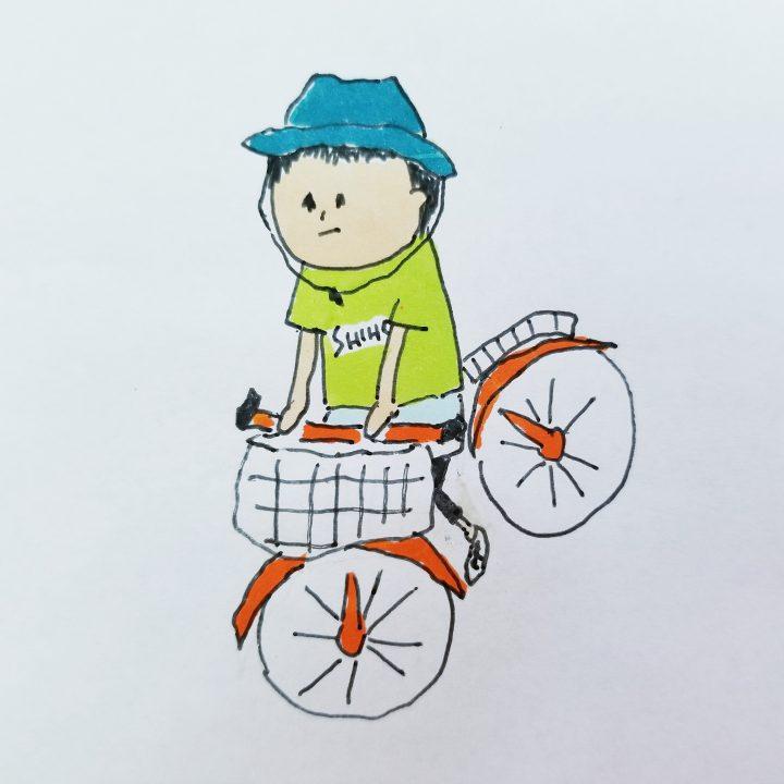 we love 5月25日(金)      お題 『自転車🚲』 /