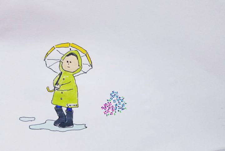 we love 6月8日(金)      お題 『レイングッズ』 /
